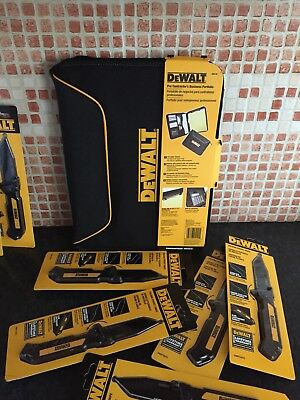 Dewalt Business Contractor Trade Folder Notepad Binder organiser Holder Quote