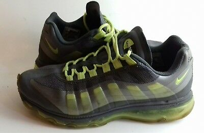 best service 6c81a fee5e MEN'S NIKE AIR Max 95 OG Neon Shoes 554970 071 Silver Grey Green size 8