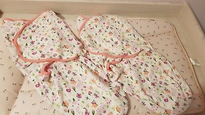 *The Original SwaddleMe* Large 4-6months swaddle/woombie/grobag x2