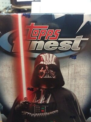 2018 Topps Finest Star Wars FACTORY SEALED Hobby Box...2 HITS!  FREE SHIPPING!