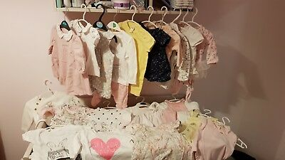 Baby girl clothes 0-3 months large bundle