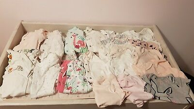 Baby girls clothes bundle 0 3 months