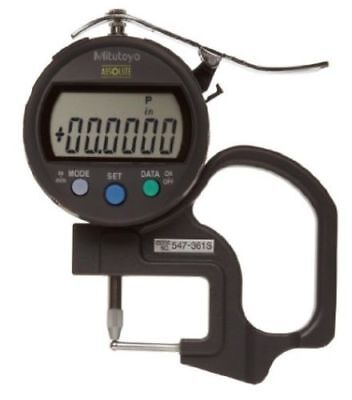 Mitutoyo 547-361S Digimatic IDC Thickness Gage Gauge, Tube Thickness Anvil NEW