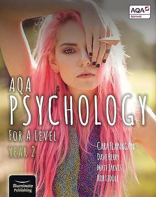 AQA psychology: for A Level year 2 by Cara Flanagan (Paperback)