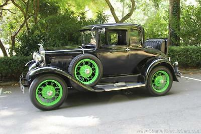 1931 Ford Model A Rumble Seat Coupe. Excellent! See VIDEO. 1931 Ford Model A Rumble Seat Coupe. EXCELLENT! See VIDEO.