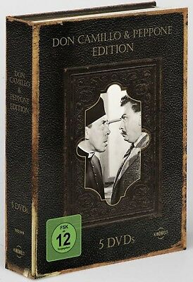 COFANETTO A BIBBIA DI DON CAMILLO in 5 dvd - ed. import con audio italiano