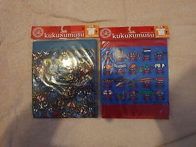 2 x Kids Childrens T Shirts - Brand New KUKUXUSU (3-5years)
