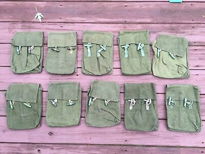 Romanian Soviet surplus rifle magazine pouch, 4-cell New, Old Stock! 2 pack