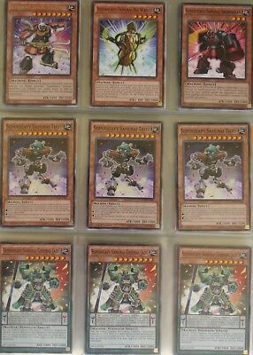 Yugioh card lot (1000s of cards in stock) deck collection: Super Heavy (52)