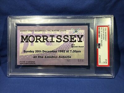 1992 Morrissey Concert Ticket London Astoria PSA