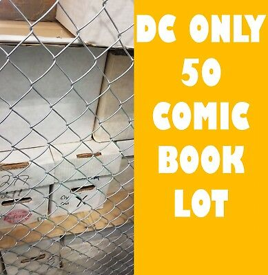 DC ONLY HUGE COMIC BOOK LOT 50 Batman Superman JLA NO DOUBLES FREE SHIPPING