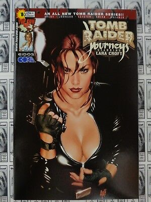 Tomb Raider Journeys (2001) Top Cow/Image - #1, Adam Hughes Variant Cover, NM