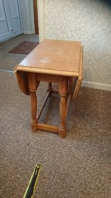 Vintage Folding Wooden Coffee / Side  Table