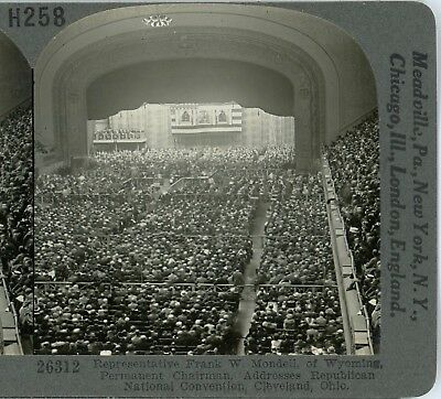 OHIO, Republican National Convention, Cleveland--Keystone History Set #H258