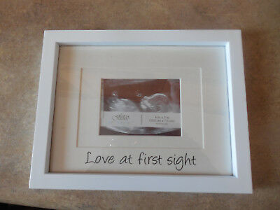 Pearhead Love At First Sight Sonogram Frame White 1599 Picclick