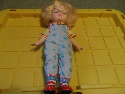 🔴 Vintage 1997 Playmates Toys Pretty Crazy Curls Hair Styling Doll 15""