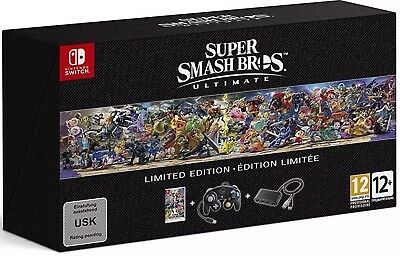 Super Smash Bros. Ultimate Limited Edition Nintendo Switch Game Special EU Game