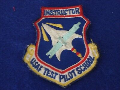 USAF INSTRUCTOR TEST PILOT SCHOOL United States Air Force Patch