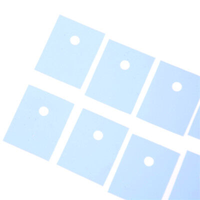 50 Pcs TO-3P Transistor Silicone Insulator Insulation Sheet FOular new. FO
