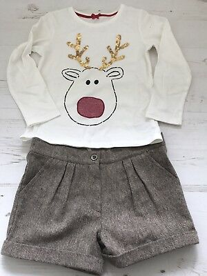 Girls Christmas Outfit 6 yrs Mothercare
