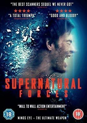 Supernatural Forces *New/sealed Horror DVD* FREEPOST / FULLY GUARANTEED*