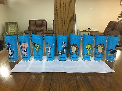 1993 Looney Tunes Glasses Choice of one, Warner Bros. Single Character