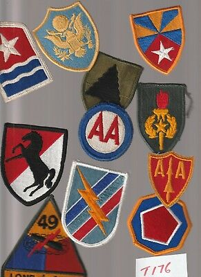 Lot Of 30+ Army Military Patches  (T176) 3 Pics