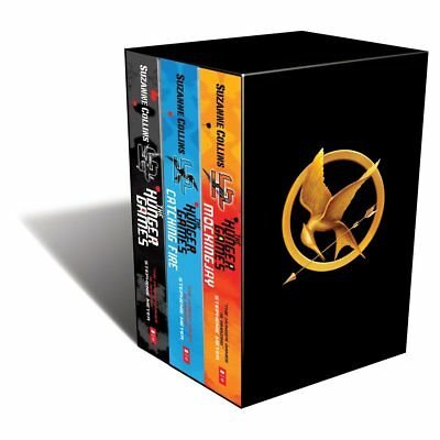 The Hunger Games Trilogy Box Set by Suzanne Collins (Paperback, 2011) BRAND NEW