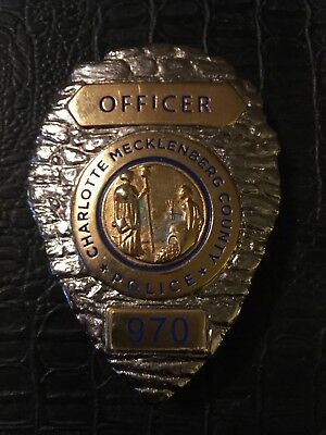 """Charlotte Mecklenburg County Police badge from the hit series """"Secrets and Lies"""""""