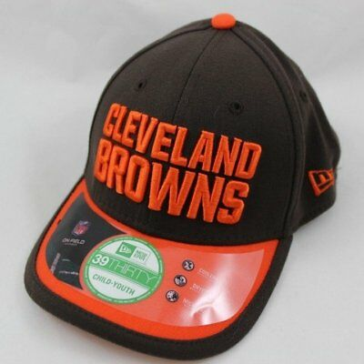 low priced 94d12 0e69e Youth Size New Era Cleveland Browns Hat - Sideline Stretch-Fit Cap - Child