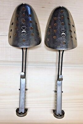 Vintage Collectable Pair of  Ecko Adjustable Metal Shoe Stretchers