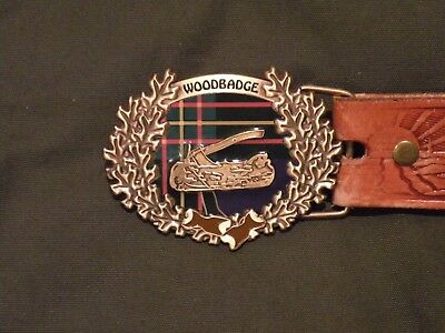 Wood Badge New Belt Buckle
