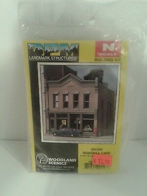 Woodland Scenics DPM - Roadkill Cafe - N Scale Building Kit 51200