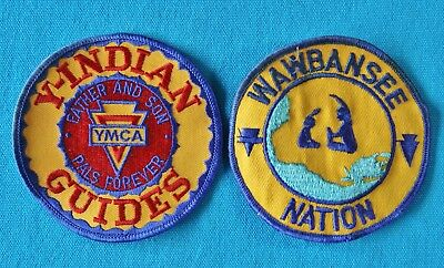 Y-Indian Guides & Wawbansee Nation Patches - Ymca Patches
