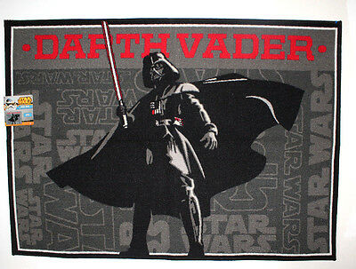 "Star Wars Characters Area Rug Carpet 40""x 54"" Non Skid Backing"