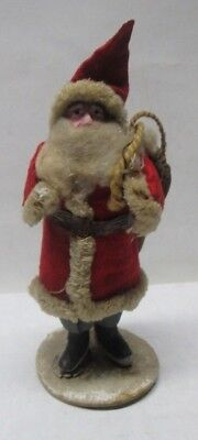 "Vintage Composition Santa Claus Figure 5"" Tall Excellent Condition No Reserve"
