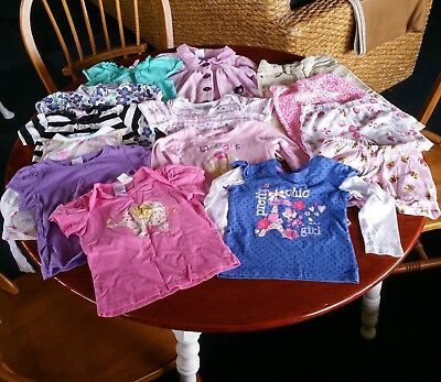 Little Girls Clothes Bulk Lot - Size 1 - Good Condition - Tops, Pants, Jacket