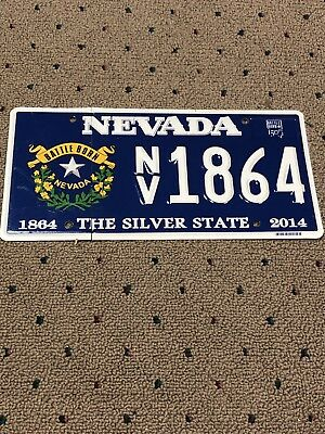 NEVADA License Plate Prototype Wow !