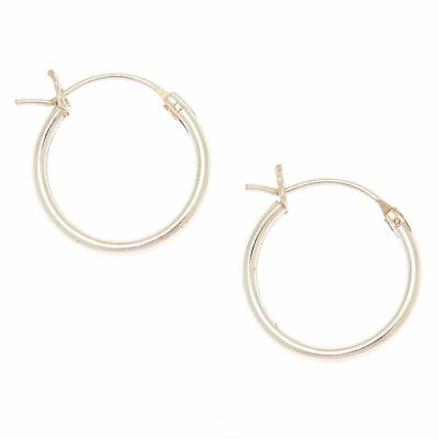 9741826c8 CLAIRE'S GIRL'S SILVER 60MM Hoop Clip On Earrings - £5.50 | PicClick UK