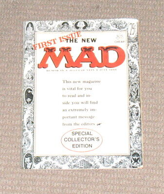 Vintage Mad Magazine First Issue Reprint