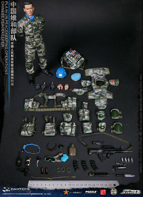 1/6 DAMTOYS Chinese Peacekeeper -PLA in UN Peacekeeping Operations Collectible