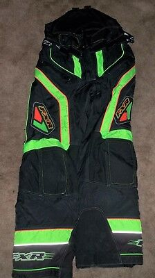 Fxr Racing Snowmobile Pants Apparel Gear Size Mens Xlarge Winter Clothing