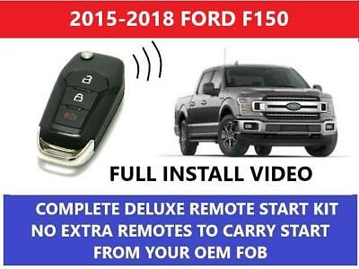 Plug and Play Remote Start Fits 2015-2018 Ford F150