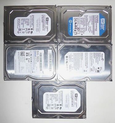 Lot 5,10,20 320GB WD/Seagate/Hitachi Mixed 3.5 SATA Desktop Hard Disk Drive HDD
