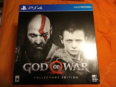 God of War Collector's Edition Playstation 4 PS4 Sony NEW SEALED IN BOX
