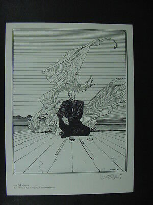 """MOEBIUS Signed Limited Edition Art Print from """"THE STRENGTH OF MAN"""" Portfolio"""