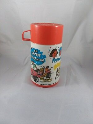 1976 The Krofft Supershow Thermos Bottle Sid & Marty Krofft Vintage Collectable