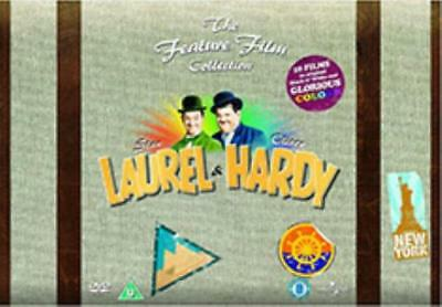 Laurel & Hardy - The Feature Film Collection (34 Films) (Region 2 DVD, sealed)