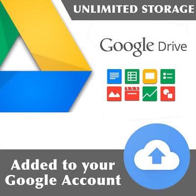 Google Drive Unlimited Space for a year - Team drive