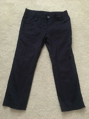 GIRLS Blue TROUSERS. SIZE 4 YEARS Great Condition.